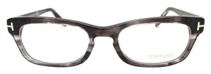 Tom Ford Tom Ford Eyeglasses Multi Color Gray Prescription Frame