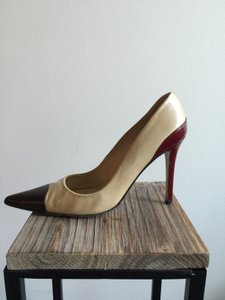 Charles by Charles David Champagne Red Brown Multi Pumps