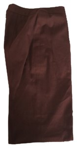 Escada Straight Pants Brown