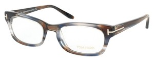 Tom Ford Tom Ford Eyeglasses Multi color Brown and Blue Rx Frame
