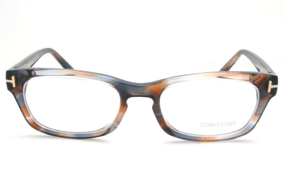 Tom Ford Eyeglasses Multi color Brown and Blue Rx Frame - Tradesy