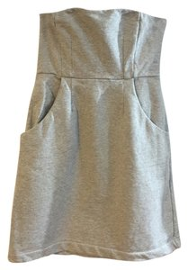 New York & Company short dress Light Gray on Tradesy