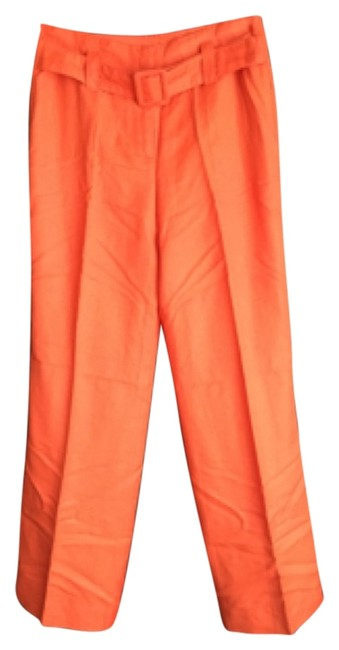 Carolina Herrera Baggy Pants Coral