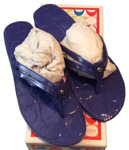 Coach Periwinkle Sandals