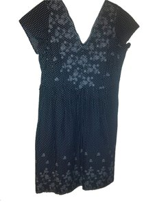 Notations short dress Blue on Tradesy