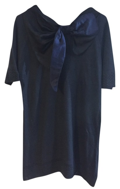 Preload https://item5.tradesy.com/images/miss-me-navy-blue-and-black-tunic-size-8-m-5911744-0-0.jpg?width=400&height=650