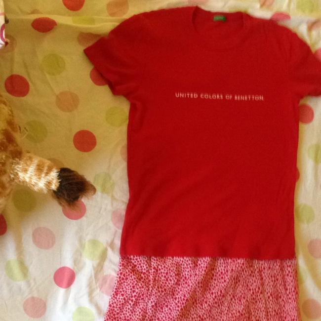 United Colors of Benetton T Shirt Red