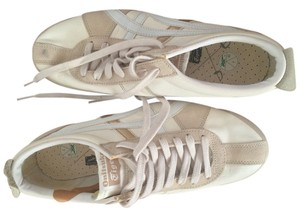 Onitsuka Tiger White and Tan Athletic