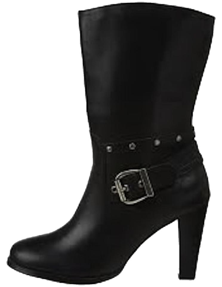 Harley Davidson Dress Black Estelle Dress Davidson / D85175 Boots/Booties 287639