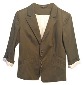 Express Army Green Blazer