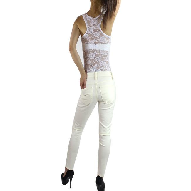 Exotic Wear Top white