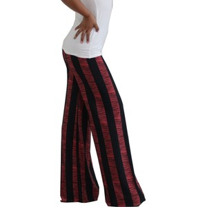 Exotic Wear Flare Pants coral black