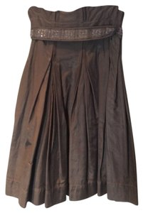 Hanii Y Skirt Olive brown