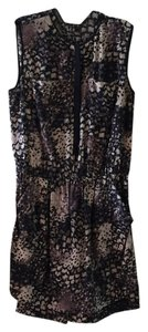Rebecca Taylor short dress Multi Black/Gray/Taupe on Tradesy