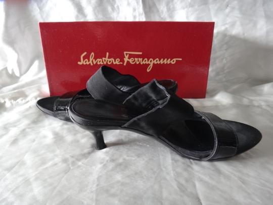 Salvatore Ferragamo Heels Black Sandals Image 1