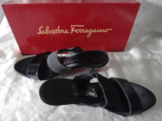 Salvatore Ferragamo Heels Black Sandals Image 3