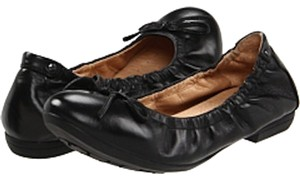 Blondo Leather Wide Width Black Flats