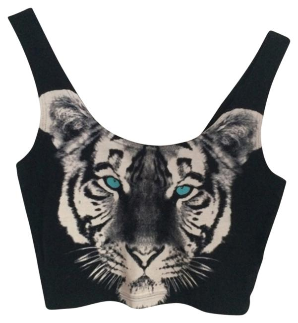 Urban Outfitters Top Black, white, blue