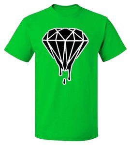 Fresh Tees Cotton Summer T Shirt Green