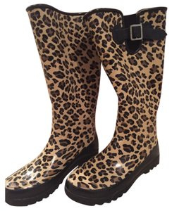 Sperry Cheetah Boots