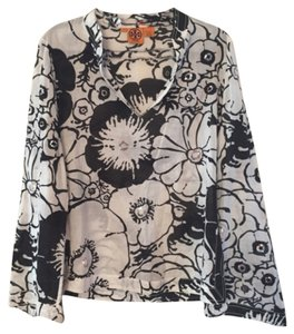 Tory Burch And Floral Balck And Tunic