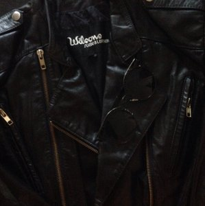Wilsons Leather Blac Leather Jacket