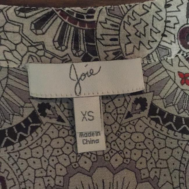 Joie Top White, black, red