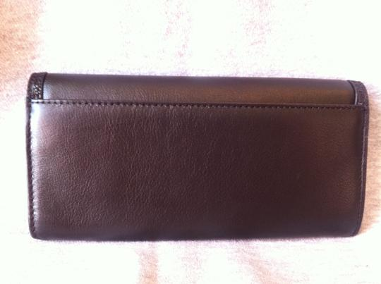 Coach Coach Taylor Leather Slim Envelope Wallet NWT Black F50612