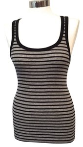 J.Crew Striped Top Gray