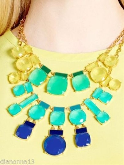 Kate Spade Kate Spade Cause A Stir Statement Necklace MSRP $248 Amazing Modern Chic!