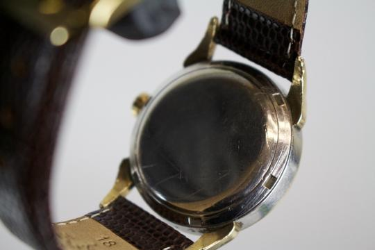 Omega * Omega Vintage Automatic 10kt Filled Watch w/ Lizard Grain Band Image 4