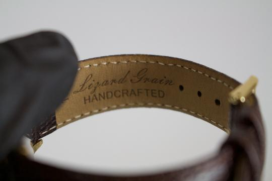 Omega * Omega Vintage Automatic 10kt Filled Watch w/ Lizard Grain Band Image 5