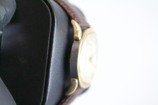 Omega * Omega Vintage Automatic 10kt Filled Watch w/ Lizard Grain Band Image 6