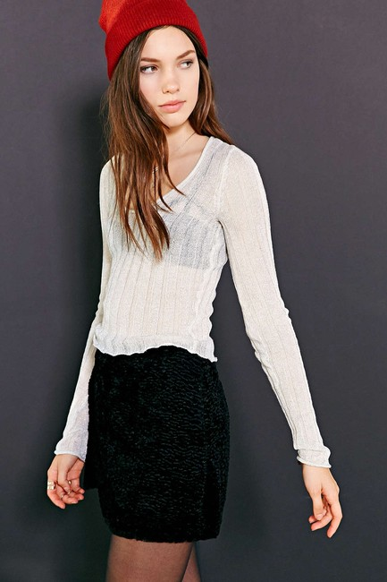 Urban Outfitters #ribbed #cropped Sweater