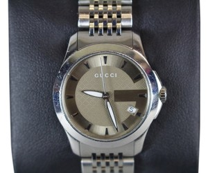 Gucci * Gucci Ladies Stainless Steel Watch 126.5