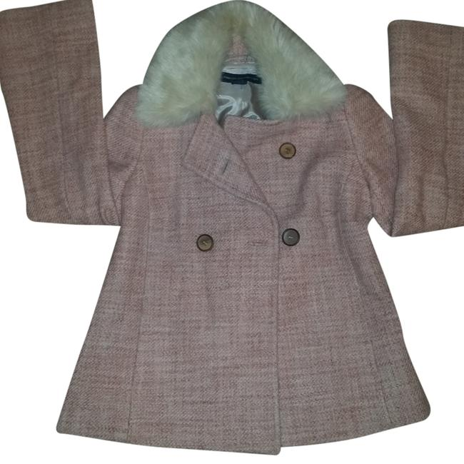 Preload https://img-static.tradesy.com/item/5918482/french-connection-pink-tweed-fur-collar-swing-jacket-size-8-m-0-0-650-650.jpg