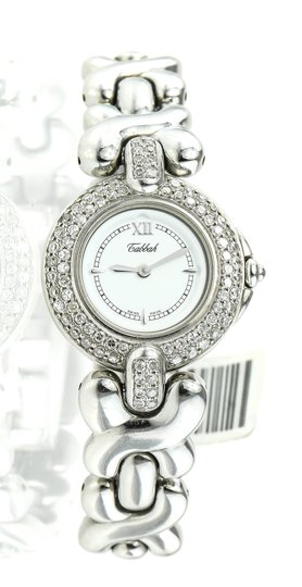 Preload https://item3.tradesy.com/images/-stainless-steel-and-diamonds-copacabana-ladies-watch-5918782-0-1.jpg?width=440&height=440