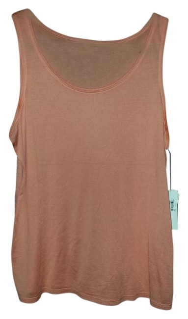 Preload https://item5.tradesy.com/images/eileen-fisher-coralpeach-shirt-soft-new-tank-topcami-size-petite-12-l-5918914-0-0.jpg?width=400&height=650