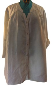 Jones New York sport woman Button Down Shirt Off white
