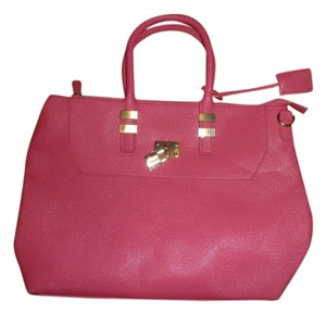 JustFab Tote in Hot Pink