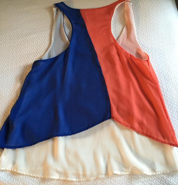 Jella Couture Sleeveless Lightweight Sexy Sleeveless Colorful Top