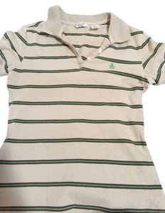 Original Penguin by Munsingwear Polo Fitted T Shirt Tan/Green