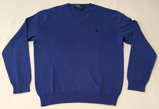 Polo Ralph Lauren Fall V-neck Pima Cotton Mens Sweater