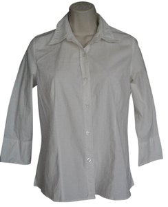 Willi Smith Straight Hem Top White