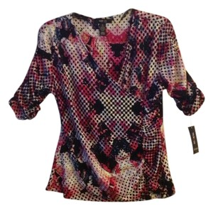 Style & Co Top Multi Pink