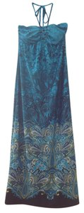 Multi Blue Maxi Dress by