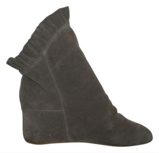 80%20 Wedge Ankle Gray Boots
