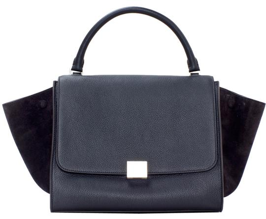 Preload https://item1.tradesy.com/images/celine-trapeze-suede-large-black-leather-shoulder-bag-5923015-0-0.jpg?width=440&height=440