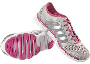 adidas Climacool Silver/Pink Athletic
