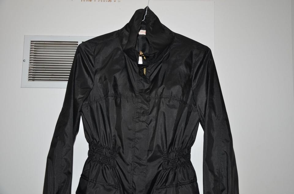 NWT Tory Burch Cassie Windbreaker Black Jacket MSRP $425